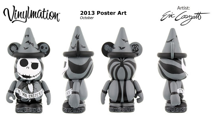 Vinylmation Open And Misc 2013 Poster Art October
