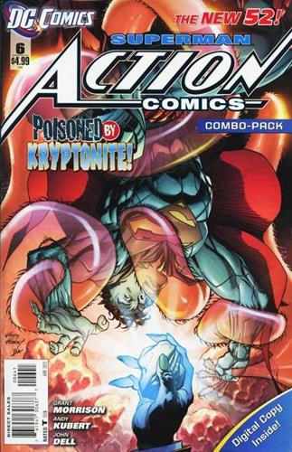 DC Comics Action Comics (2011 - 2016) Action Comics (2011) #6E Icon Thumb