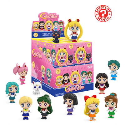 Mystery Minis Sailor Moon Sailor Pluto Stock