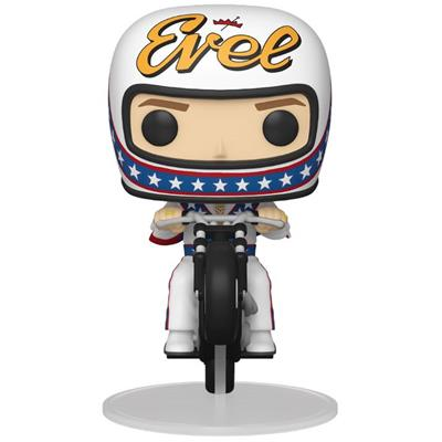 Funko Pop! Rides Evel Knievel on Motorcycle