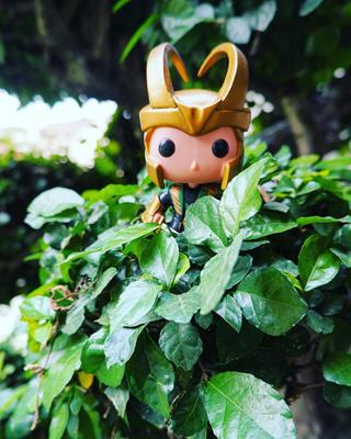 Funko Pop! Marvel Loki (w/ Helmet) funkocommander on tumblr.com