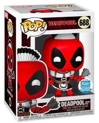 Funko Pop! Marvel Deadpool French Maid Stock