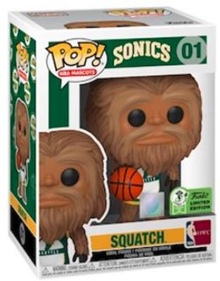 Funko Pop! Sports Squatch Stock