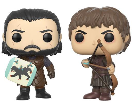 Funko Pop! Game of Thrones Battle of the Bastards (2-Pack)
