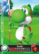 Amiibo Cards Mario Sports Superstars Yoshi - Golf