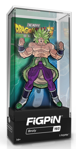 FiGPin Dragon Ball Super Broly Stock
