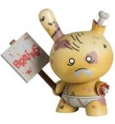 Kid Robot Special Edition Dunny Zombie (Americas) Stock