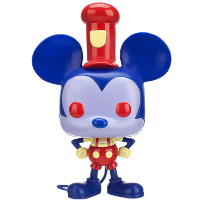 Funko Pop! Giant Steamboat Willie (Blue & Red - Redux)