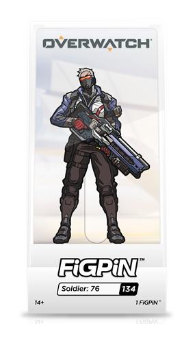 FiGPin Overwatch Soldier: 76 Stock