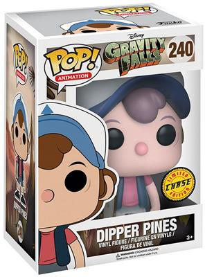 Funko Pop! Animation Dipper Pines (Glow) - CHASE Stock