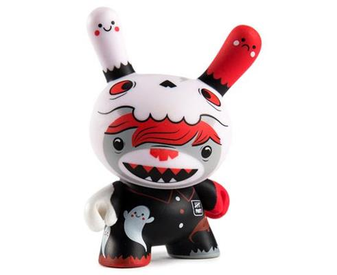 Kid Robot Special Edition Dunny Five Points (Red) Stock