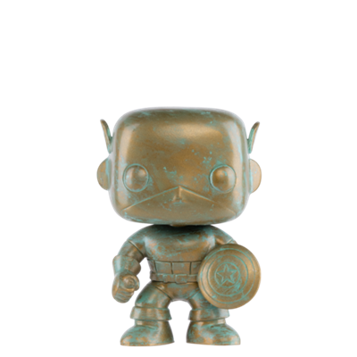 Funko Pop! Marvel Captain America Patina