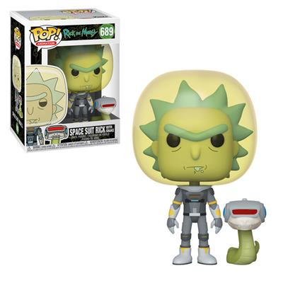 Funko Pop! Animation Space Suit Rick with Snake