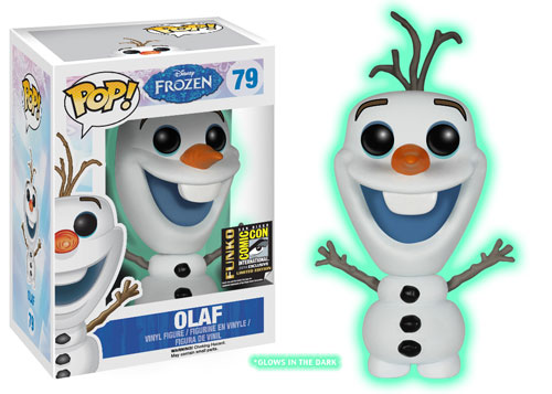 Funko Pop! Disney Olaf (Glow in the Dark) Stock