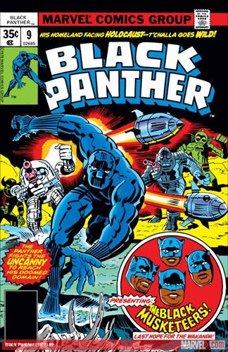 Marvel Comics Black Panther (1977 - 1979) Black Panther (1977) #9 Icon