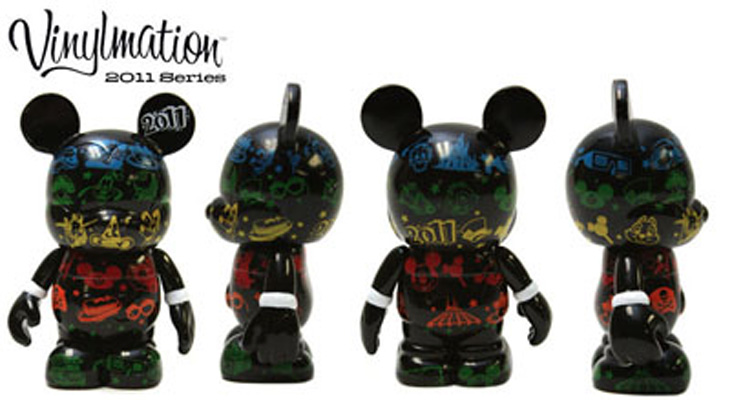 Vinylmation Open And Misc 2011 Edition Rainbow Icons 2011