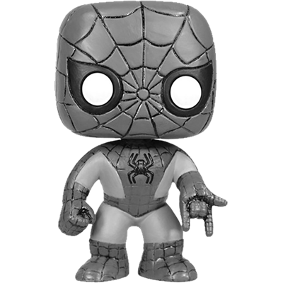 Funko Pop! Marvel Spider-Man (Black & White) Icon