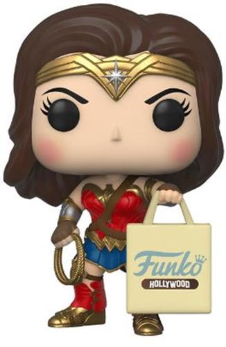 Funko Pop! Heroes Wonder Woman (w/ Hollywood Bag)