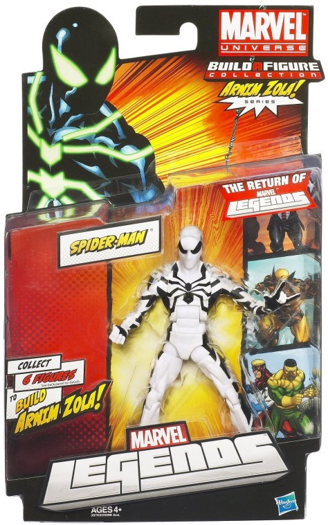 Marvel Legends Arnim Zola Series Spider-Man (Future Foundation Variant)