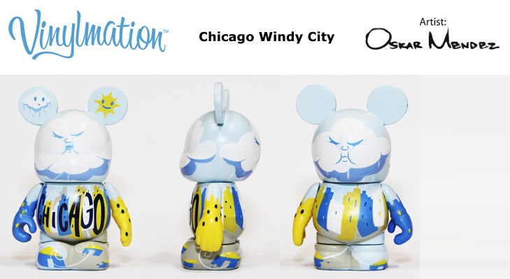 Vinylmation Open And Misc City Chicago Windy City