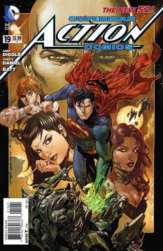 DC Comics Action Comics (2011 - 2016) Action Comics (2011) #19A Icon