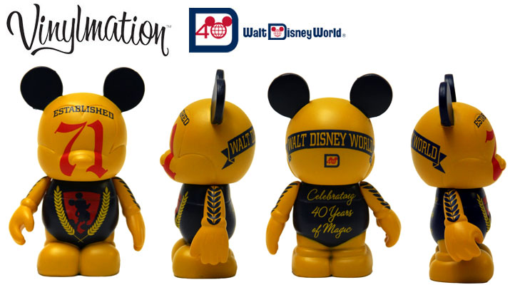 Vinylmation Open And Misc Disney World 40th Anniversary WDW '71