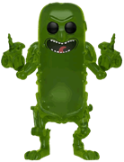 Funko Pop! Animation Pickle Rick (Translucent)
