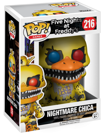 Funko Pop! Games Chica (Nightmare) Stock