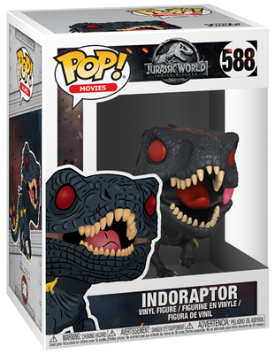 Funko Pop! Movies Indoraptor Stock