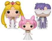 Funko Pop! Animation Neo Queen Serenity, Small Lady & King Endymion