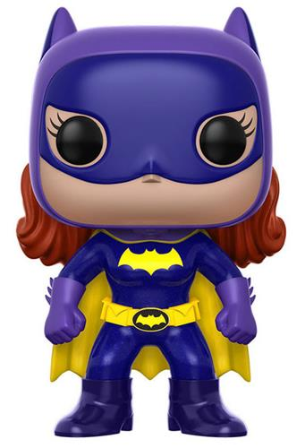 Funko Pop! Heroes Batgirl (Classic) (Purple Outfit) Icon