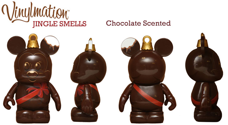 Vinylmation Open And Misc Jingle Smells Chocolate