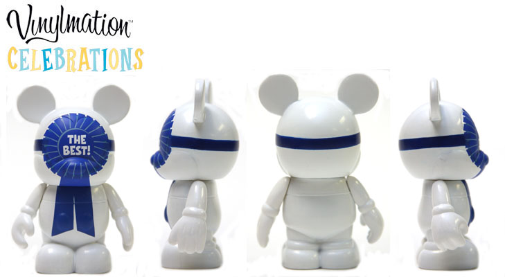 Vinylmation Open And Misc Celebrations Blue Ribbon