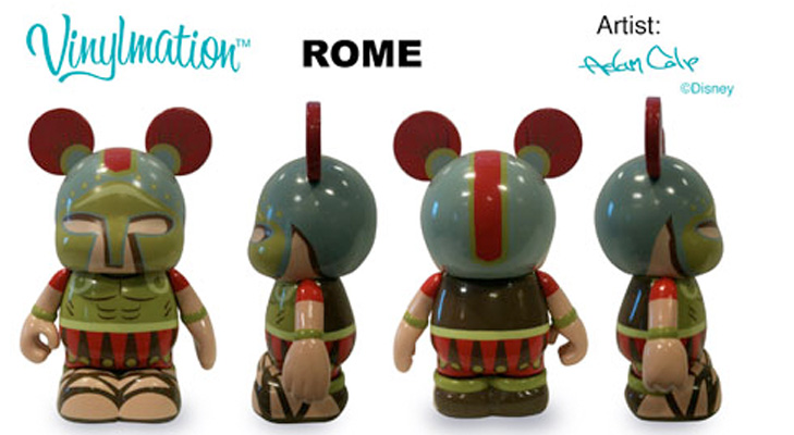 Vinylmation Open And Misc City Rome