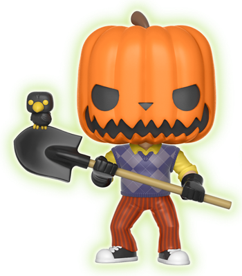 Funko Pop! Games The Neighbor (Pumpkinhead) - Glow