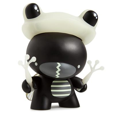 "Kid Robot 5"" Dunnys Incognito (Black/Glow)"