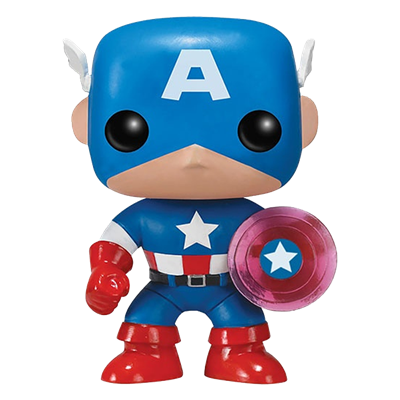 Funko Pop! Marvel Captain America (Photon Shield)