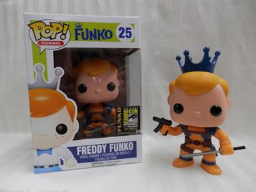 Funko Pop! Freddy Funko Deadpool (Orange) Stock