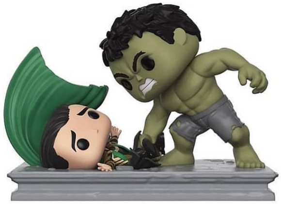 Funko Pop! Marvel Hulk Smashing Loki