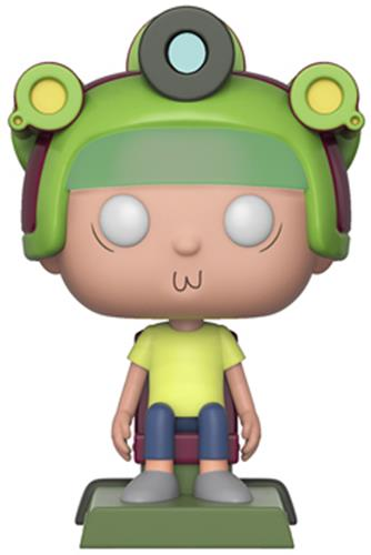 Funko Pop! Animation Morty (w/ Game Helmet)