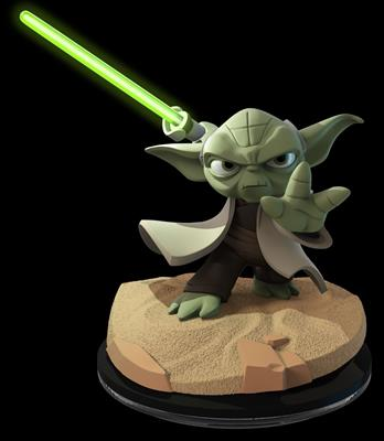 Disney Infinity Figures Star Wars Yoda (Light FX)