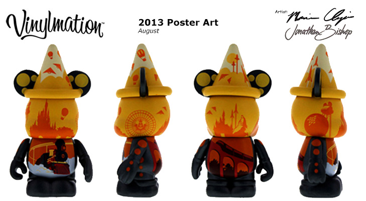 Vinylmation Open And Misc 2013 Poster Art August