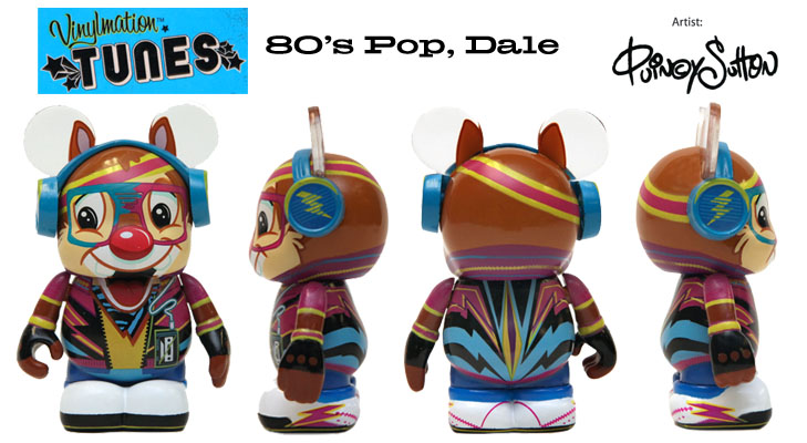 Vinylmation Open And Misc Tunes Pop 80's Dale