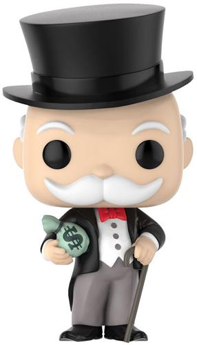 Funko Pop! Board Games Mr. Monopoly (w/ Money Bag)