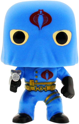 Funko Pop! Animation Cobra Commander (Hooded) Icon