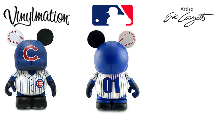 Vinylmation Open And Misc MLB Chicago Cubs