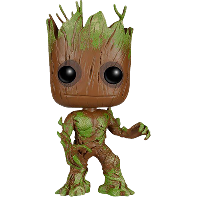 Funko Pop! Marvel Groot (Mossy) Icon