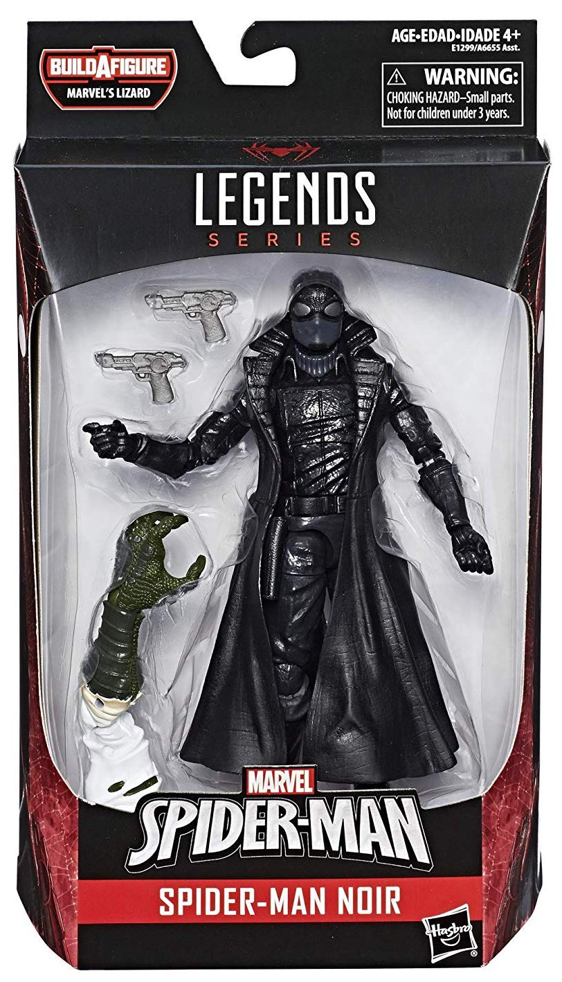 Marvel Legends Lizard Series Spider-Man Noir