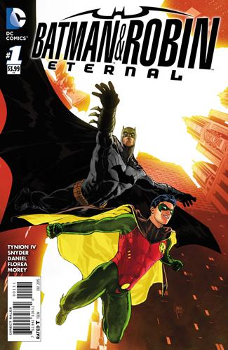 DC Comics Batman & Robin Eternal (2015 - 2016) Batman & Robin Eternal (2015) #1C Icon