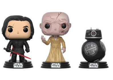 Funko Pop! Star Wars TLJ First Order (3-Pack)